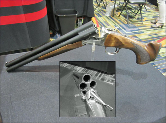 Triple barrel shotgun coming in 2013 from chiappa shot show guns image thecheapjerseys Images